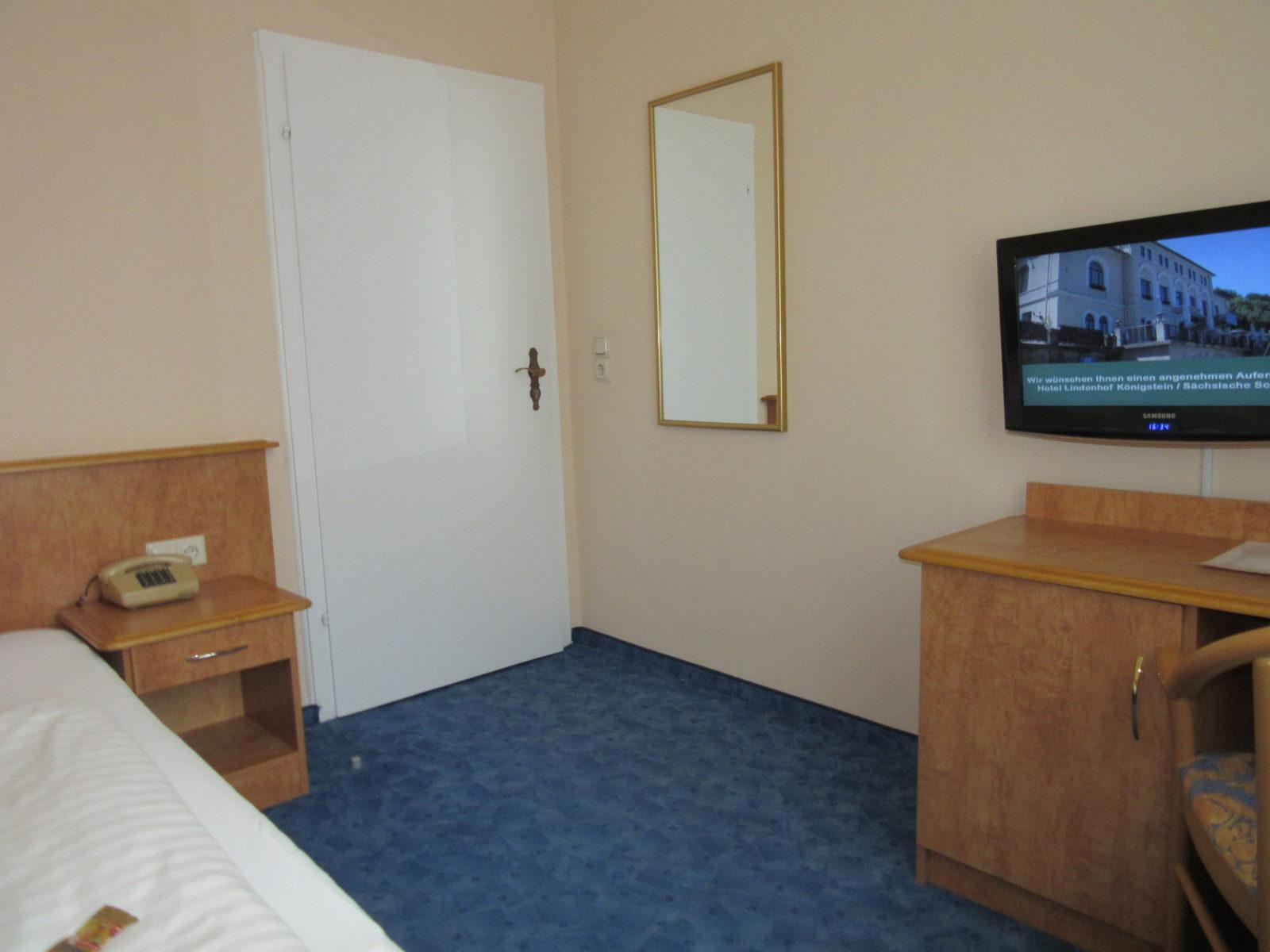 Das kleine Zimmer vom Familienappartement